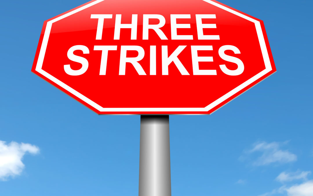 Is There a Three-Strikes Rule in Pennsylvania?