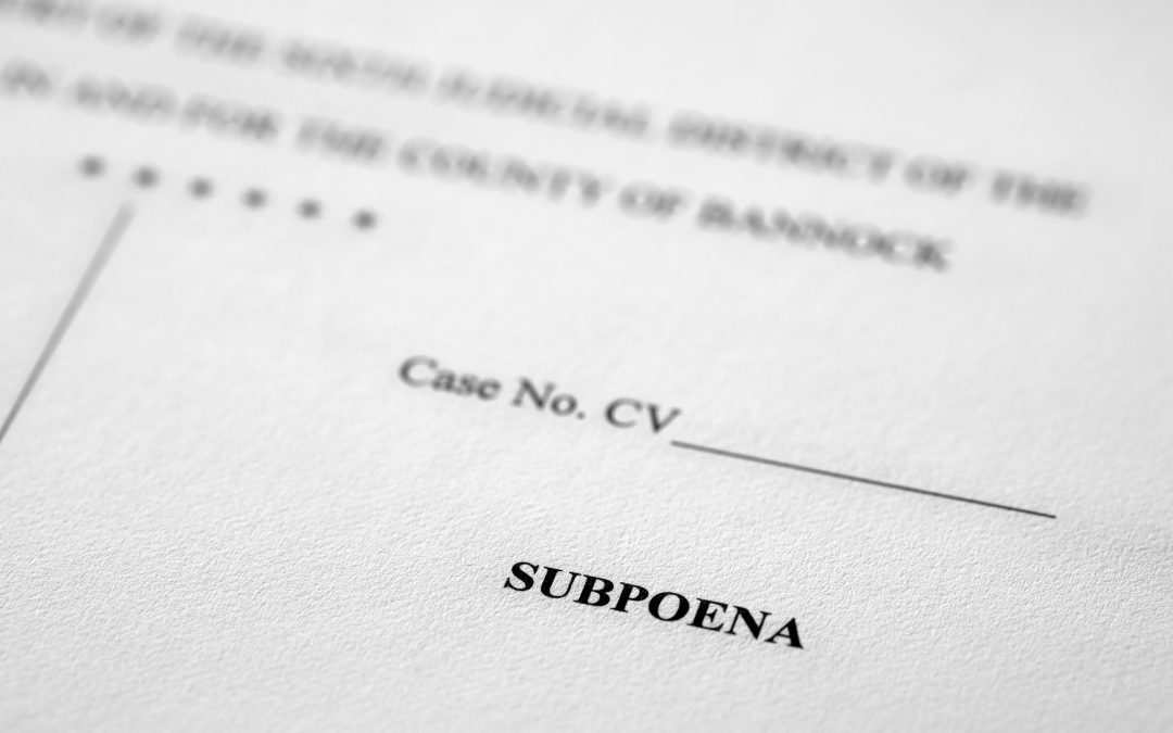 What Happens if You Ignore a Subpoena in Pennsylvania?